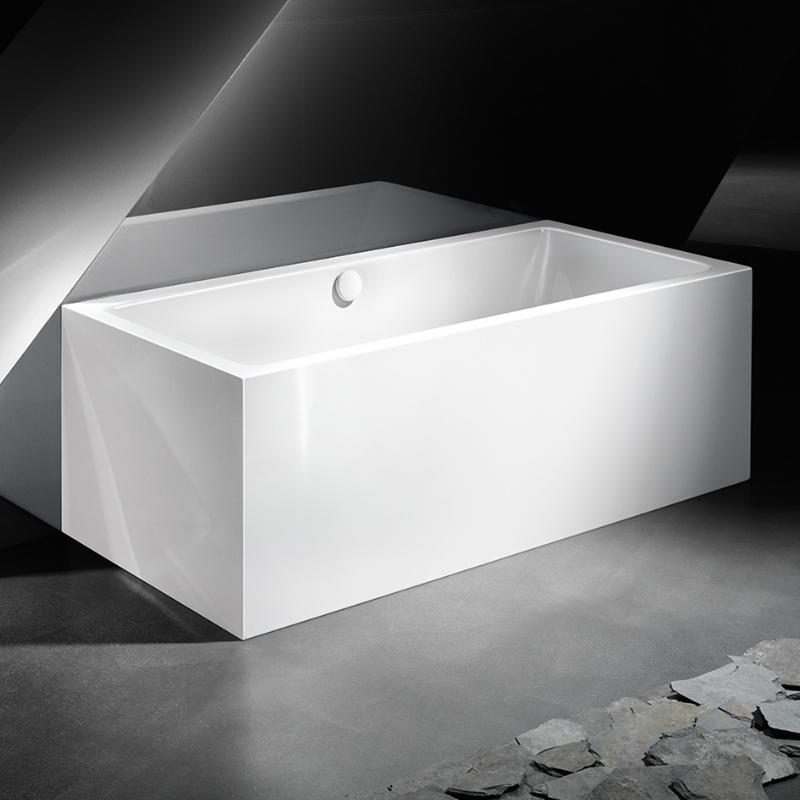 Kaldewei meisterst ck conoduo rechteck badewanne vorwand for Sechseck badewanne stahl