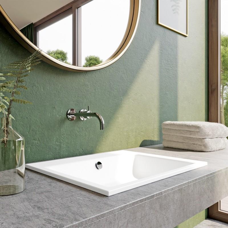 kaldewei puro einbauwaschtisch. Black Bedroom Furniture Sets. Home Design Ideas