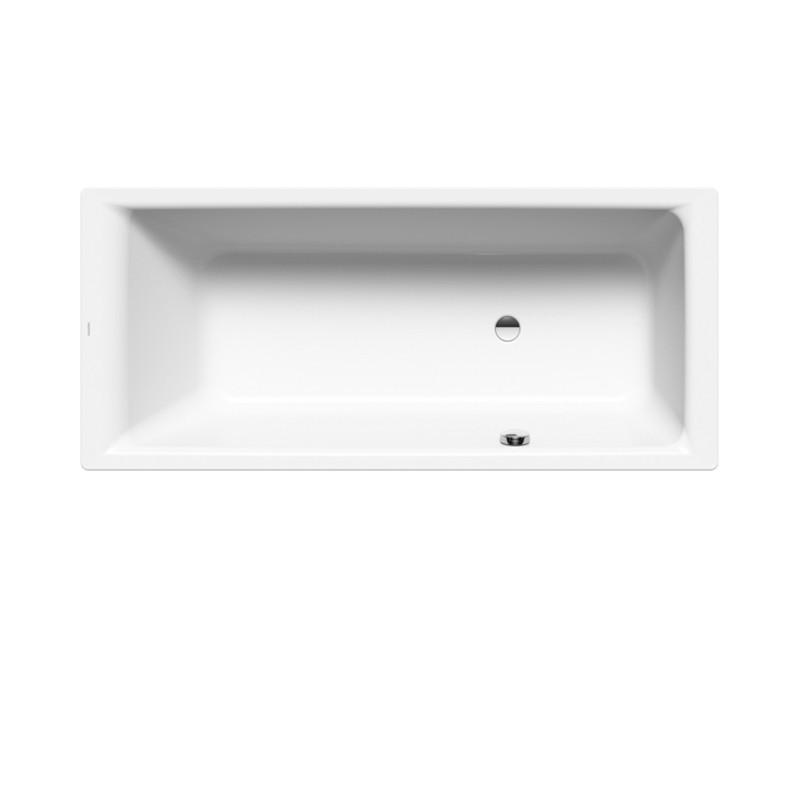 kaldewei puro rechteck badewanne mit seitlichem berlauf. Black Bedroom Furniture Sets. Home Design Ideas