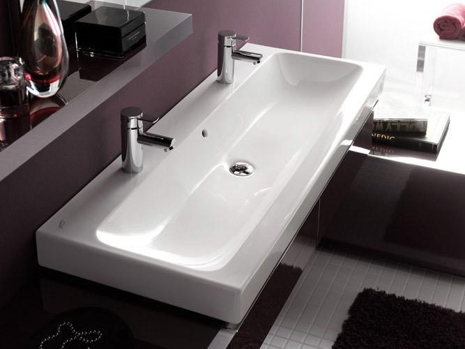 keramag icon doppelwaschtisch. Black Bedroom Furniture Sets. Home Design Ideas