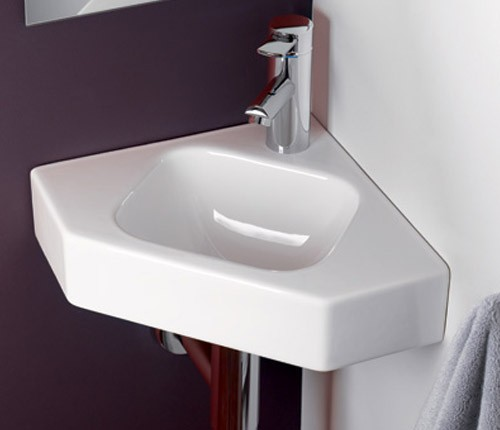 keramag icon xs eck handwaschbecken. Black Bedroom Furniture Sets. Home Design Ideas