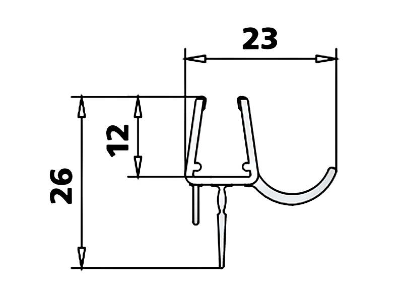 kermi atea duschkabine viertelkreis pendelt r wasserablaufprofil. Black Bedroom Furniture Sets. Home Design Ideas
