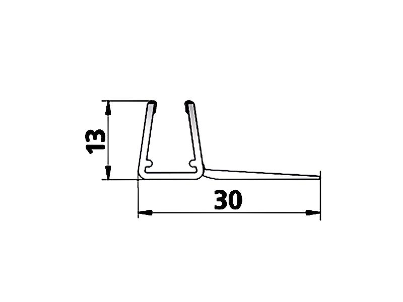 kermi atea glasdichtung 3505. Black Bedroom Furniture Sets. Home Design Ideas