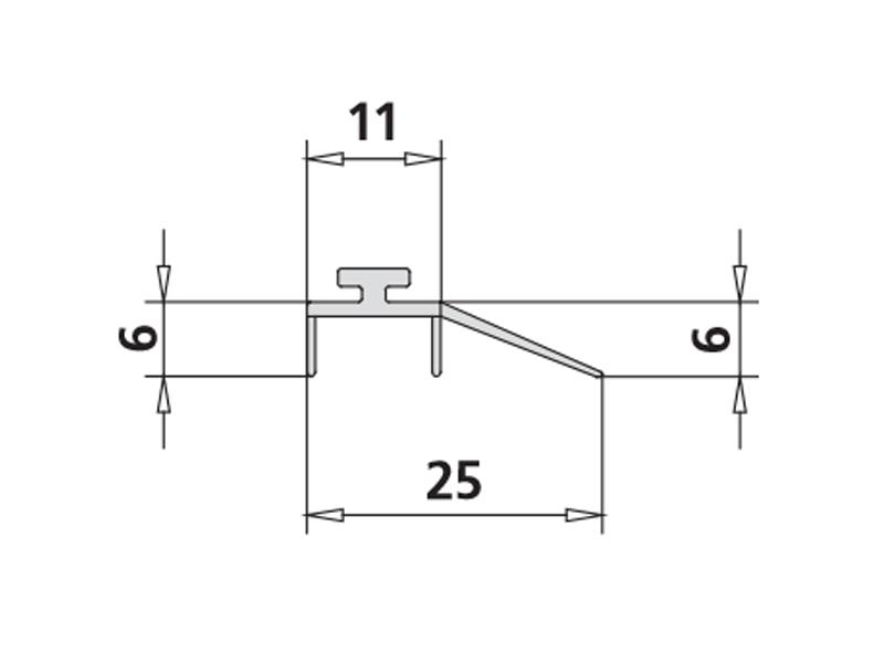 kermi atea wasserablaufprofil 3320. Black Bedroom Furniture Sets. Home Design Ideas