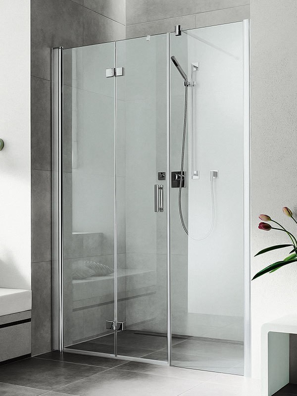 kermi diga duschkabine pendel faltt r mit festfeld. Black Bedroom Furniture Sets. Home Design Ideas