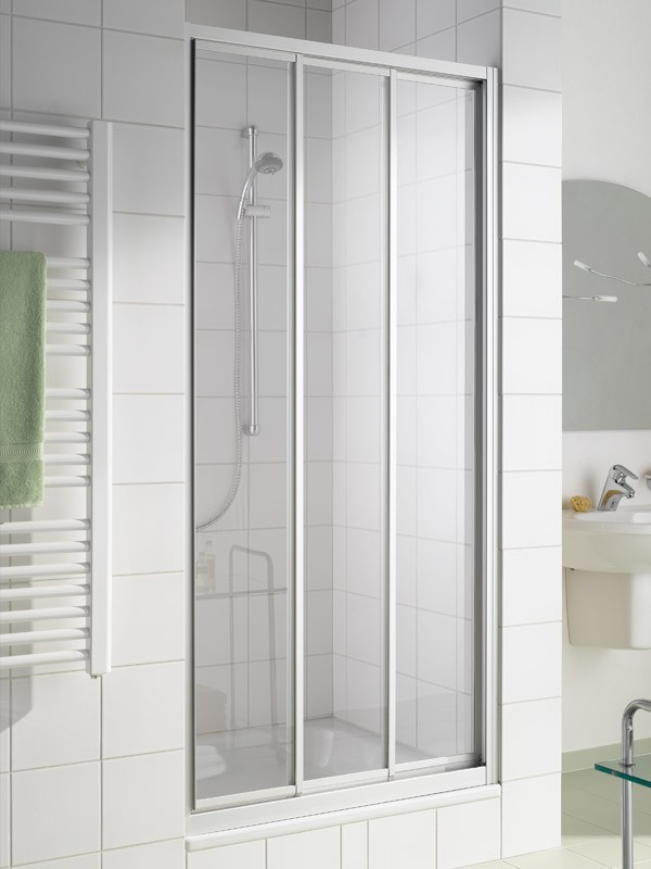 kermi ibiza 2000 duschkabine gleitt r 3 teilig. Black Bedroom Furniture Sets. Home Design Ideas