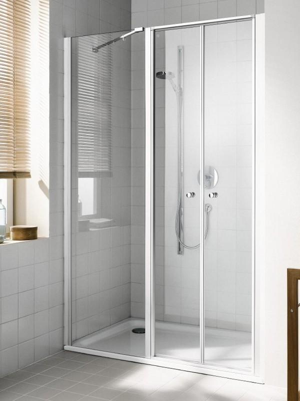 kermi ibiza 2000 duschkabine pendelt r 2 fl gelig mit. Black Bedroom Furniture Sets. Home Design Ideas