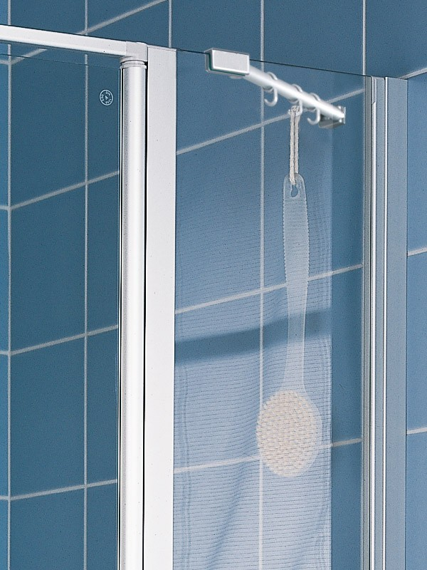 kermi ibiza 2000 duschkabine pendelt r 2 fl gelig mit festfeld. Black Bedroom Furniture Sets. Home Design Ideas
