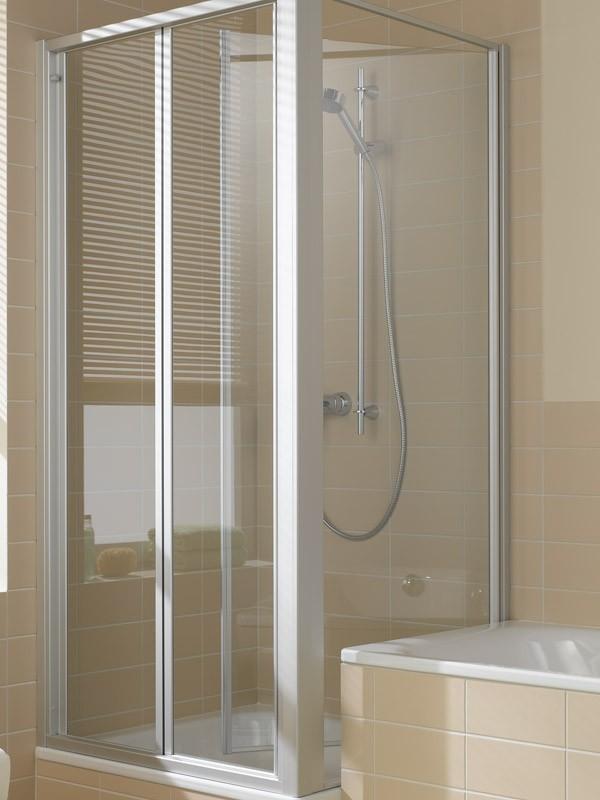 kermi ibiza 2000 eck duschkabine gleitt r 3 teilig. Black Bedroom Furniture Sets. Home Design Ideas