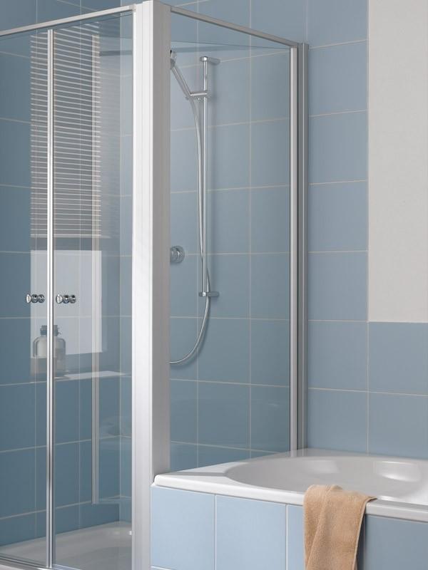 kermi ibiza 2000 eck duschkabine schwingt r. Black Bedroom Furniture Sets. Home Design Ideas