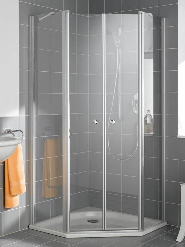 kermi ibiza 2000 f nfeck duschkabine 2x pendelt r mit festfeld. Black Bedroom Furniture Sets. Home Design Ideas