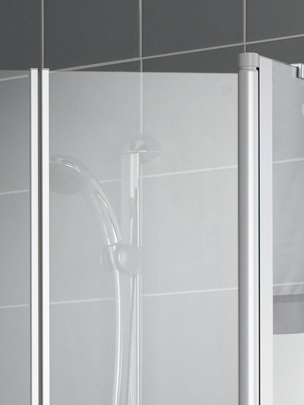 kermi ibiza 2000 f nfeck duschkabine 2x pendelt r mit. Black Bedroom Furniture Sets. Home Design Ideas