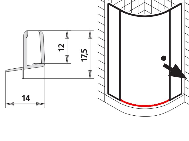 kermi ibiza 2000 wasserablaufprofil. Black Bedroom Furniture Sets. Home Design Ideas