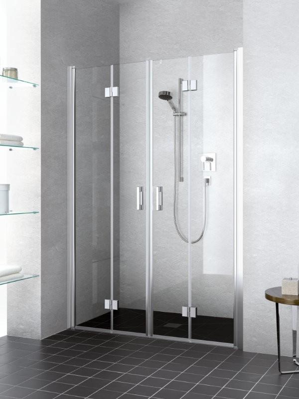 Kermi liga duschkabine pendel faltt r 4 teilig - Faltwand dusche ...