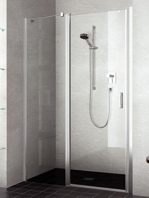 kermi liga duschkabine pendelt r mit festfeld. Black Bedroom Furniture Sets. Home Design Ideas