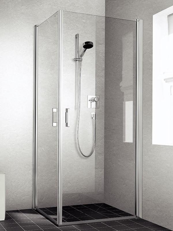 kermi liga eckeinstieg duschkabine pendelt r. Black Bedroom Furniture Sets. Home Design Ideas