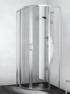 Duschkabine Viertelkreis in zeitlosem Design | BadDepot.de