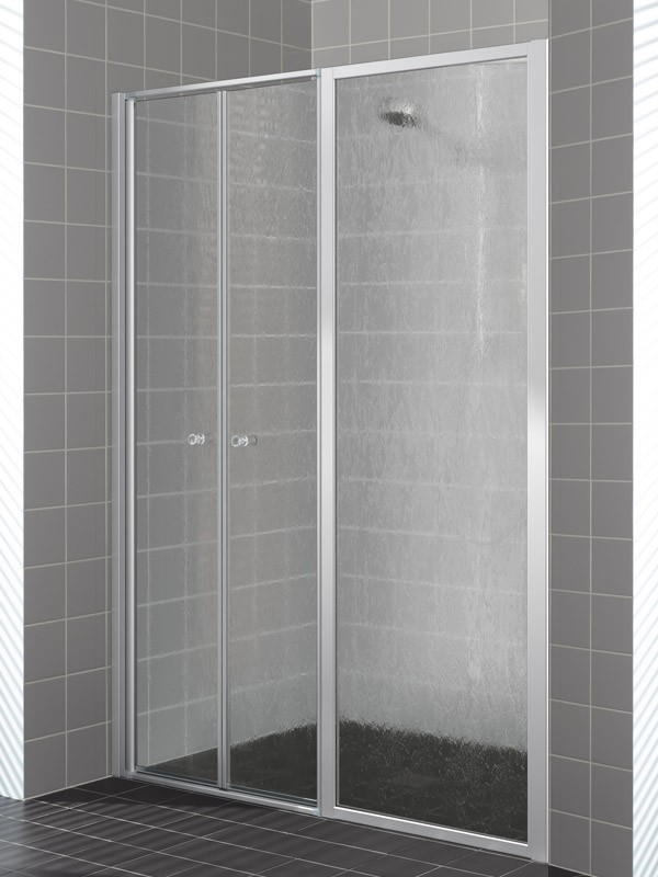 kermi nova 2000 duschkabine pendelt r 2 fl gelig mit festfeld. Black Bedroom Furniture Sets. Home Design Ideas