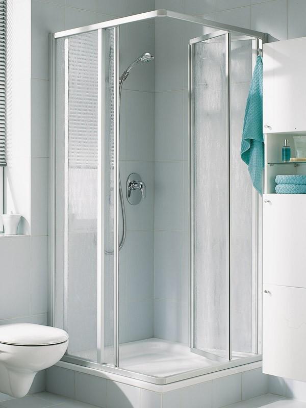 kermi nova 2000 eckeinstieg duschkabine gleitt r und faltt r. Black Bedroom Furniture Sets. Home Design Ideas