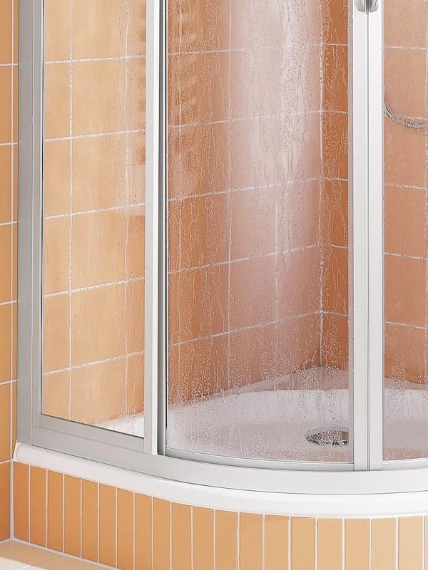 kermi nova 2000 viertelkreis duschkabine 2x gleitt r. Black Bedroom Furniture Sets. Home Design Ideas