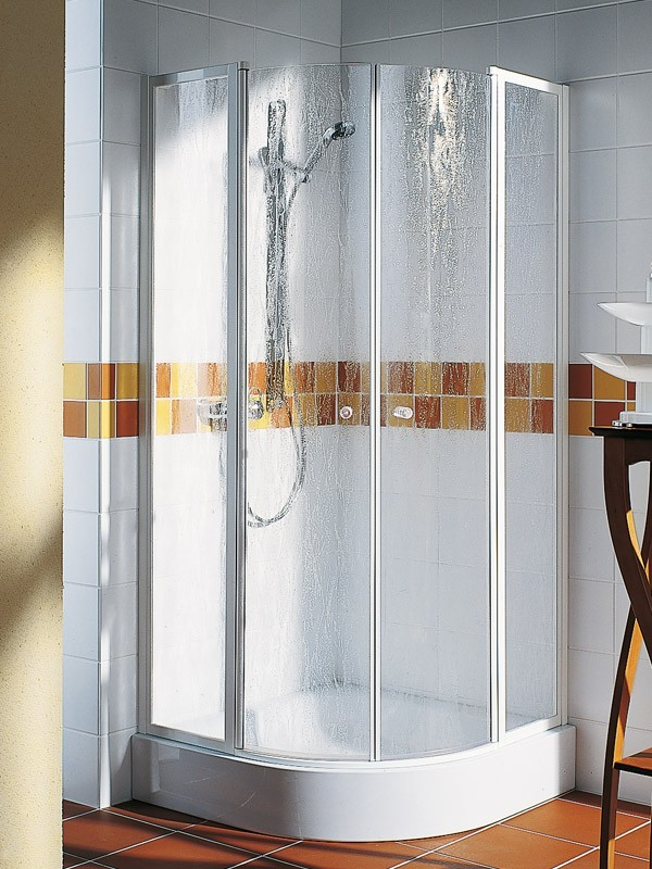 kermi nova 2000 viertelkreis duschkabine pendelt r 2 fl gelig. Black Bedroom Furniture Sets. Home Design Ideas