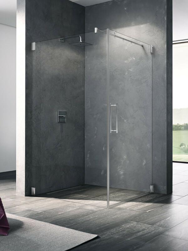 kermi pasa eck duschkabine pendelt r 1 fl gelig. Black Bedroom Furniture Sets. Home Design Ideas