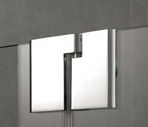kermi pasa eck duschkabine pendelt r 1 fl gelig mit festfeld baddepot. Black Bedroom Furniture Sets. Home Design Ideas
