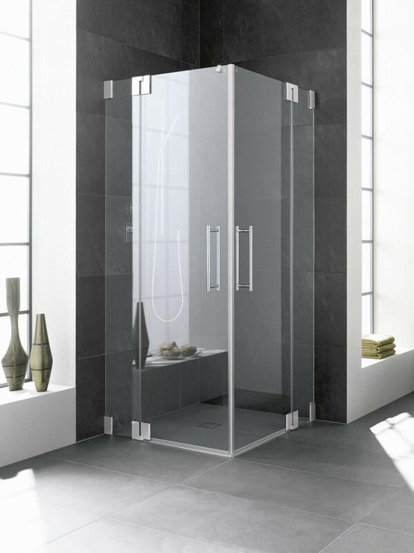kermi pasa eckeinstieg duschkabine pendelt ren mit festfeld. Black Bedroom Furniture Sets. Home Design Ideas