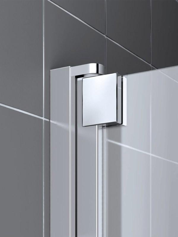 kermi raya duschkabine eckeinstieg pendelt r mit festfeld baddepot. Black Bedroom Furniture Sets. Home Design Ideas