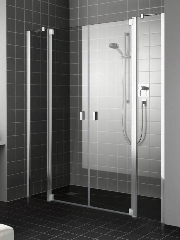 kermi raya duschkabine pendelt ren 2 fl gelig mit festfeldern. Black Bedroom Furniture Sets. Home Design Ideas
