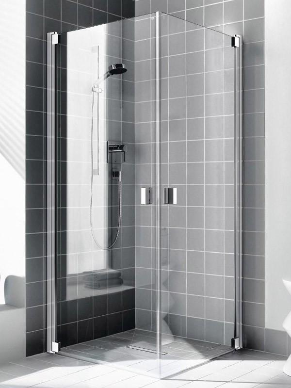 kermi raya eckeinstieg duschkabine pendelt r. Black Bedroom Furniture Sets. Home Design Ideas