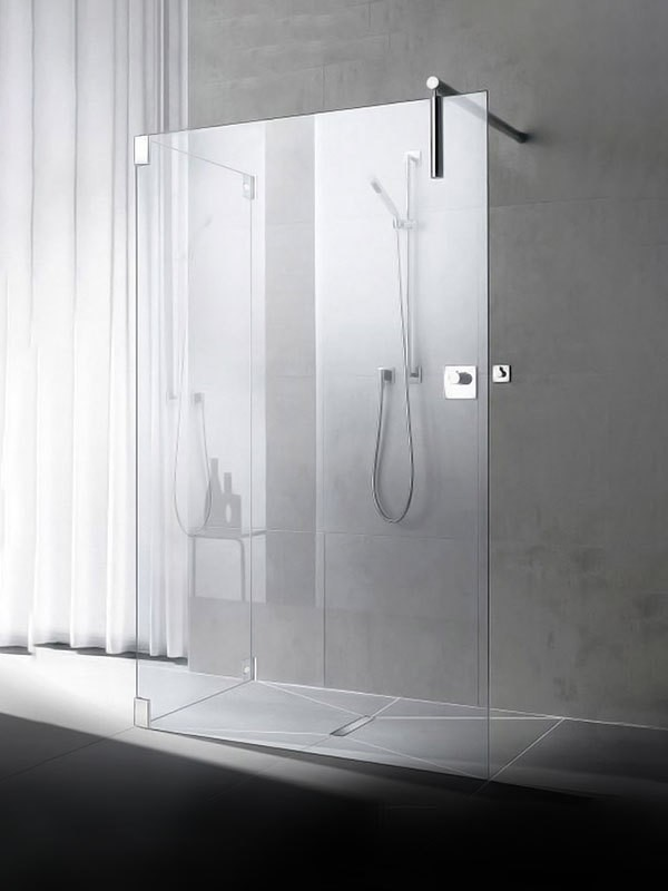 kermi walk in shower xs free mit seitenwand. Black Bedroom Furniture Sets. Home Design Ideas
