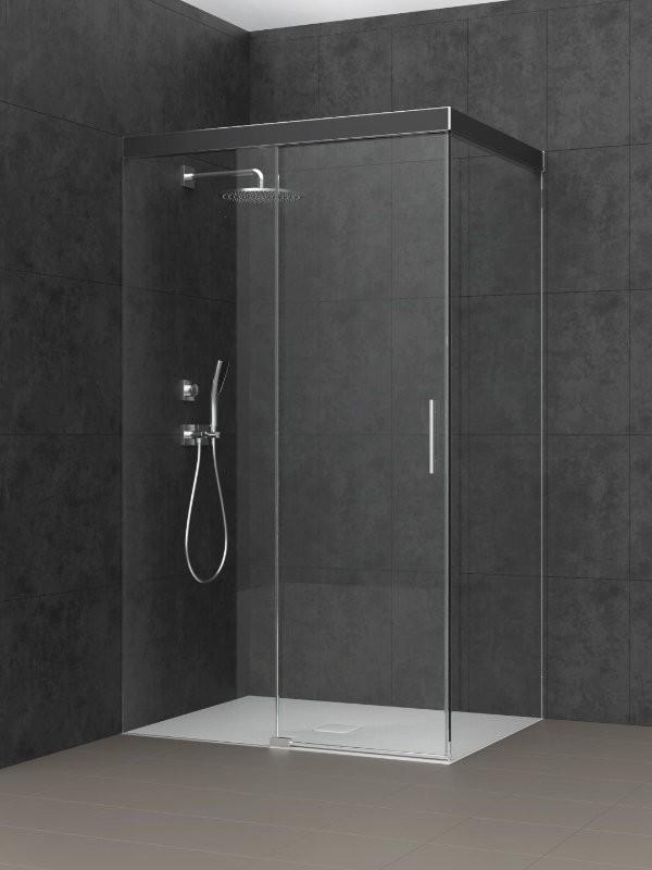 koralle s606 plus eck duschkanine schiebet r 2 teilig. Black Bedroom Furniture Sets. Home Design Ideas