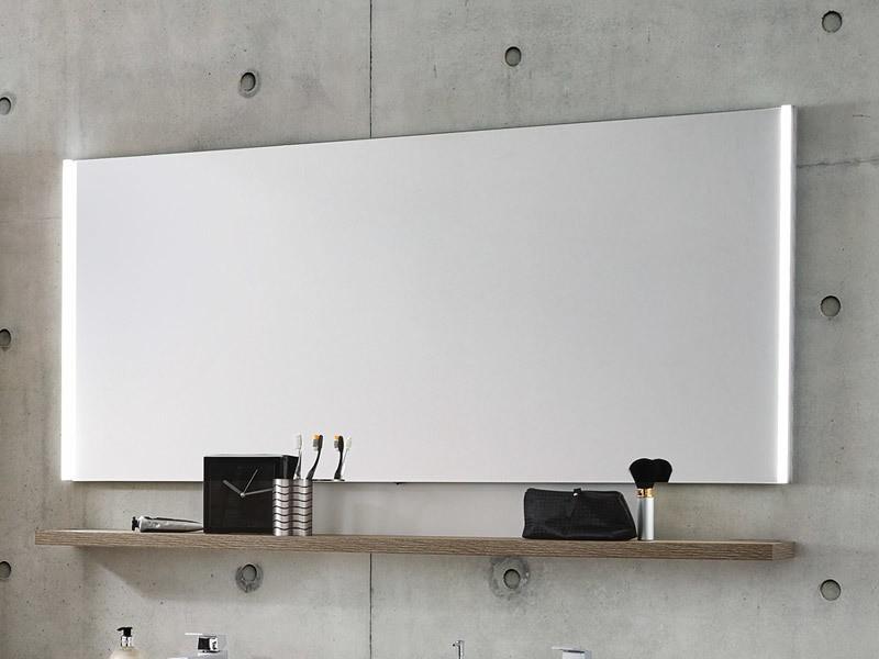 laguna badspiegel mit vertikaler led beleuchtung. Black Bedroom Furniture Sets. Home Design Ideas