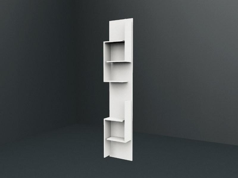 laguna hochschrank regal mit offener ablage. Black Bedroom Furniture Sets. Home Design Ideas
