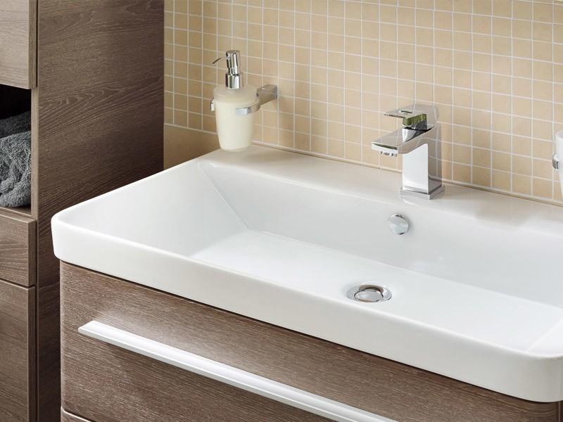 lanzet k8 waschtisch mit waschtischunterschrank 800 mm. Black Bedroom Furniture Sets. Home Design Ideas