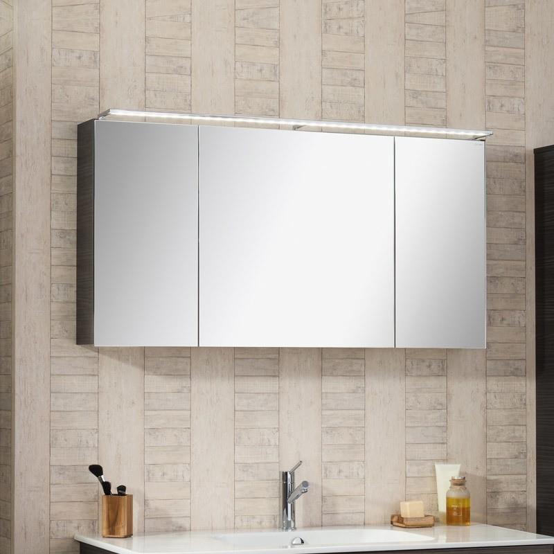 Lanzet Spiegelschrank Leuchte L5   BadDepot.de