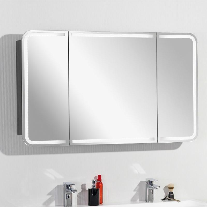 Lanzet Spiegelschrank Leuchte M9   BadDepot.de