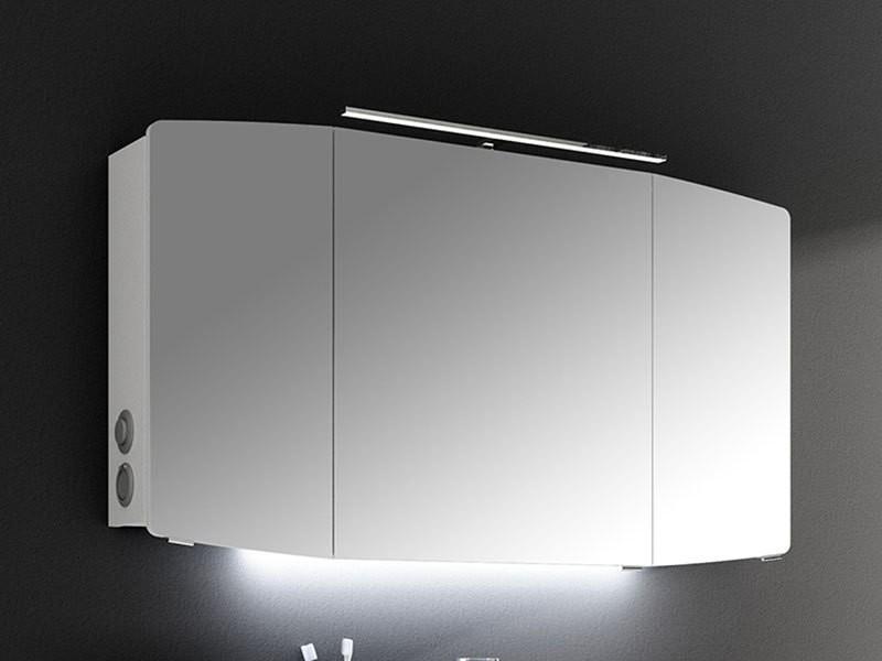 Pelipal Cassca Spiegelschrank LED Aufbauleuchte | BadDepot.de