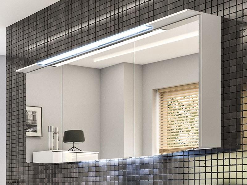 pelipal cassca spiegelschrank mit led beleuchtung im kranz. Black Bedroom Furniture Sets. Home Design Ideas