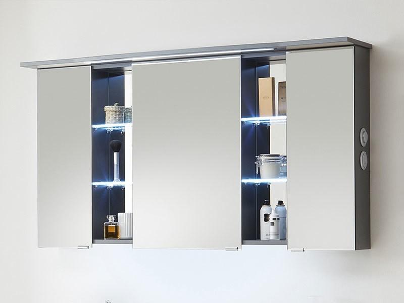 pelipal contea spiegelschrank mit led beleuchtung im kranz. Black Bedroom Furniture Sets. Home Design Ideas