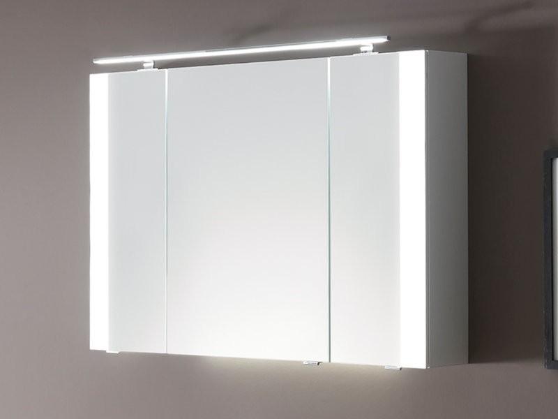 Pelipal Pcon Spiegelschrank mit seitlicher LED-Beleuchtung an den Türen