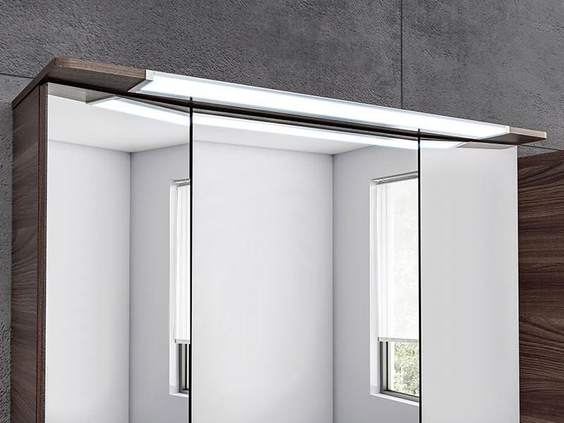 pelipal pineo 3d spiegelschrank mit led beleuchtung im kranz. Black Bedroom Furniture Sets. Home Design Ideas