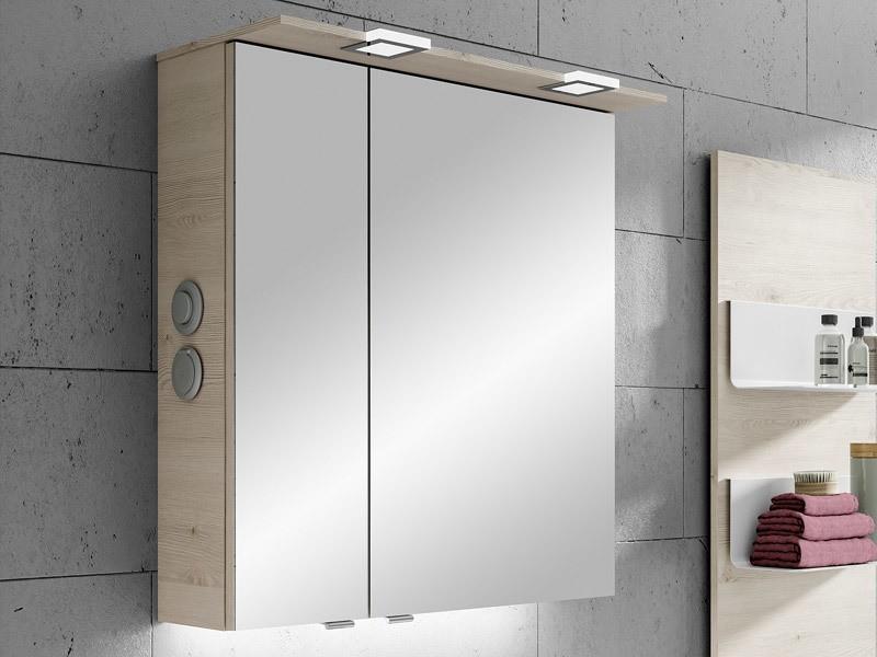 pelipal solitaire 6025 spiegelschrank mit led beleuchtung im kranz. Black Bedroom Furniture Sets. Home Design Ideas