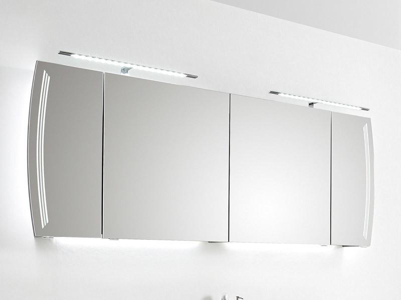 pelipal solitaire 7025 spiegelschrank mit led beleuchtung links und rechts in den t ren. Black Bedroom Furniture Sets. Home Design Ideas
