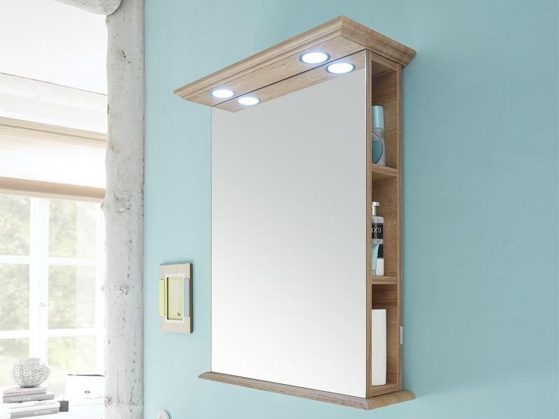 Pelipal Solitaire 9030 Spiegelschrank Regal Mit Led Beleuchtung Im Kranz