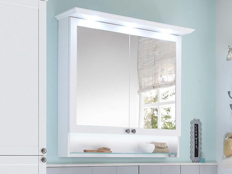Pelipal Solitaire 9030 Spiegelschrank mit offenen Fach und LED ...