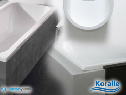 Poresta Systems Wannentr�ger f�r KORALLE T500 Oval
