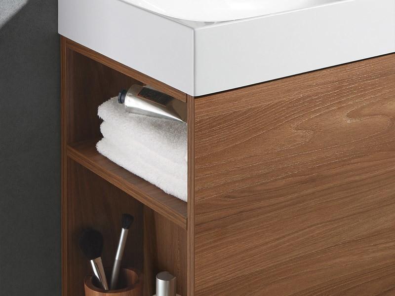 sanipa 2morrow waschtischunterbau f r cubic mineralguss. Black Bedroom Furniture Sets. Home Design Ideas