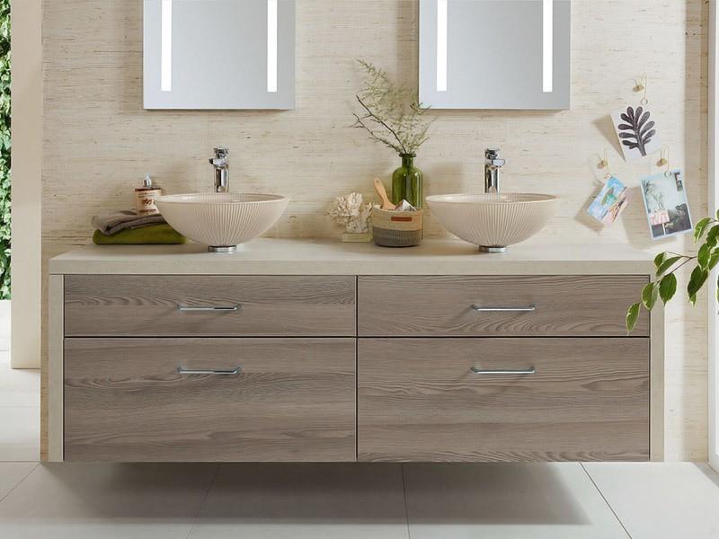 sanipa glas aufsatz waschtisch. Black Bedroom Furniture Sets. Home Design Ideas